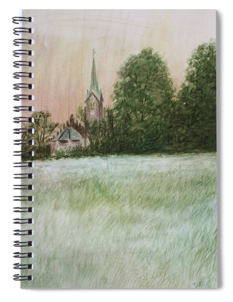 The Church In The Fields Spiral Notebook