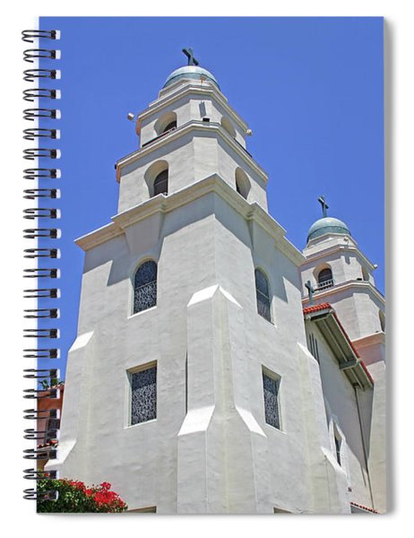 The Church Of The Good Shepherd - Church Of The Stars Spiral Notebook