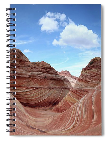 The Classic Wave Spiral Notebook