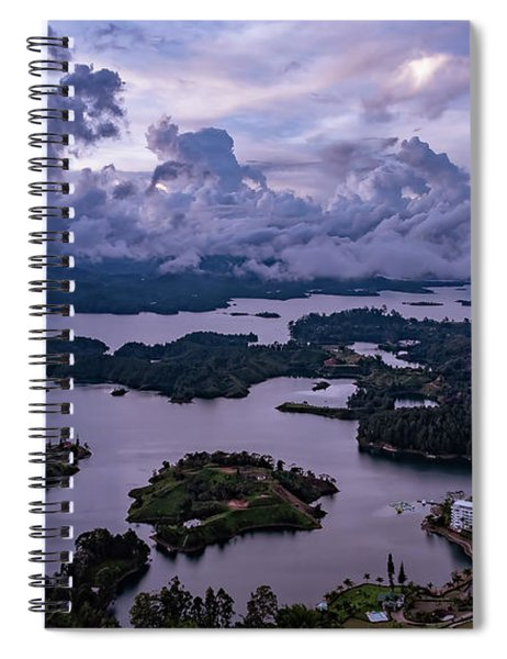 The Clouds At Penol Spiral Notebook