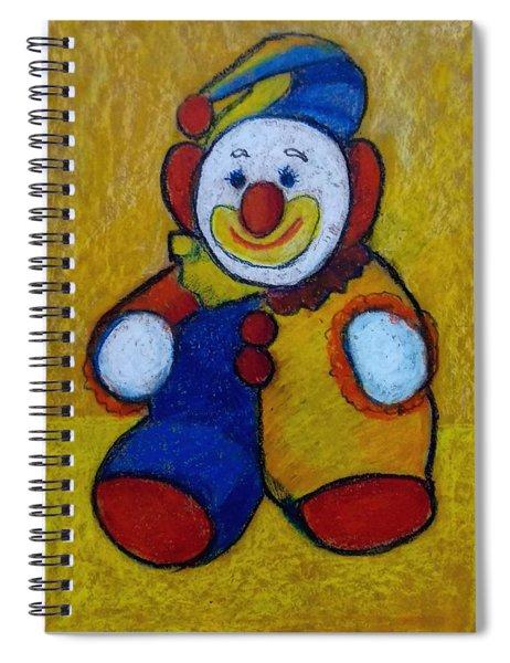The Clown Spiral Notebook