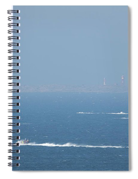 The Coast Guard's Rib Spiral Notebook