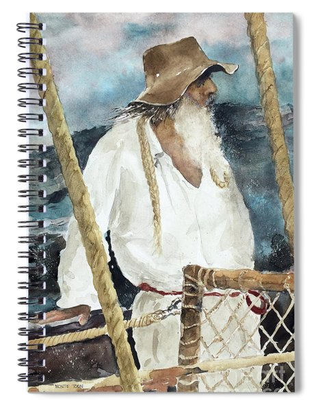 The Colonist Spiral Notebook