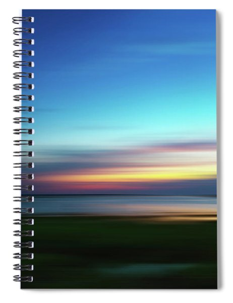 The Colors Of Dusk Spiral Notebook