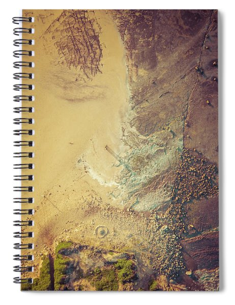 The Colours Of Longreef Spiral Notebook