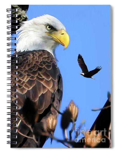 The Commander Spiral Notebook