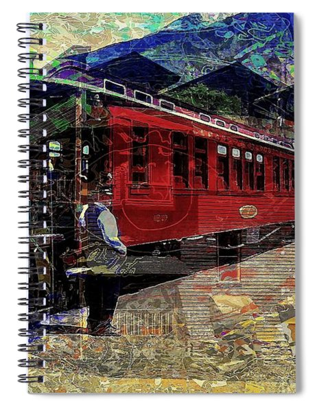 The Conductor Spiral Notebook