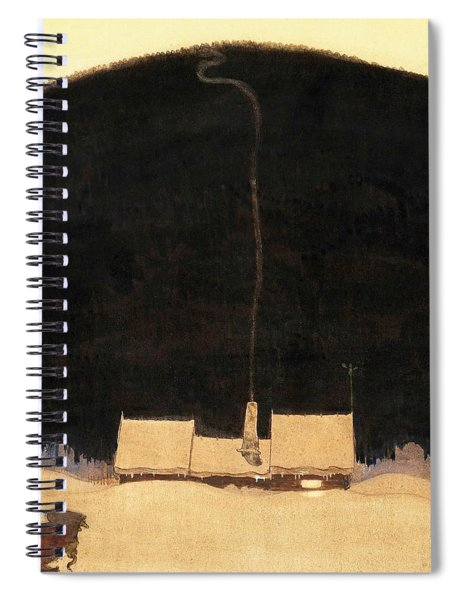 The Cottage At The Foot Of The Mountain - Digital Remastered Edition Spiral Notebook