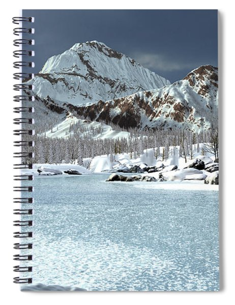The Courtship Of Ice Spiral Notebook