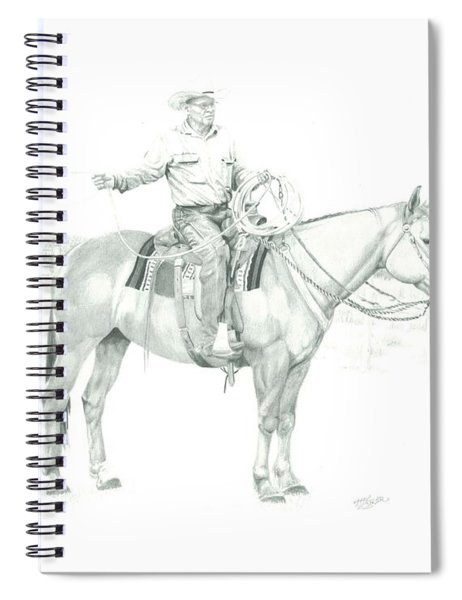 The Cowboy Way Spiral Notebook