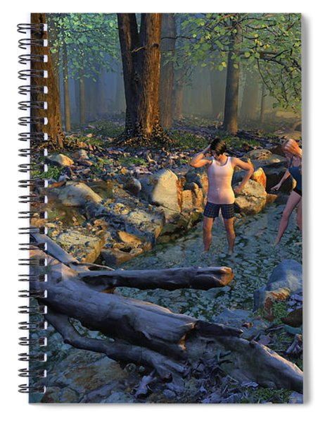 The Crawfish Games Spiral Notebook