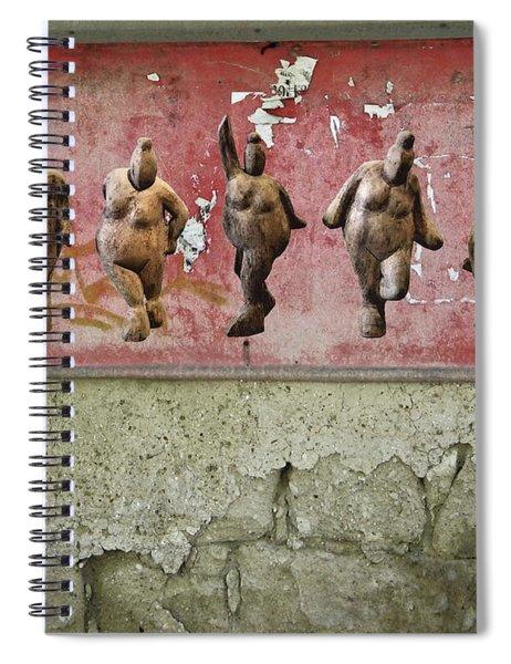 The Crones - Venus Dancing  Spiral Notebook