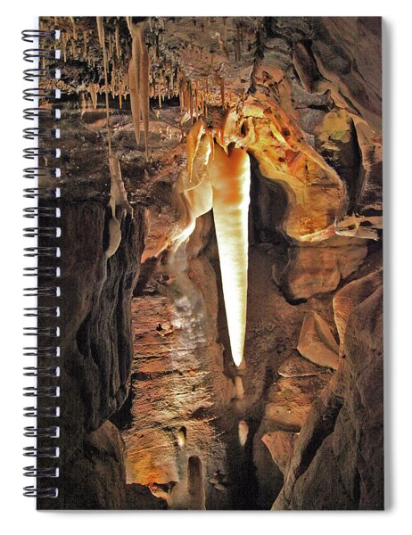The Crystal King Spiral Notebook