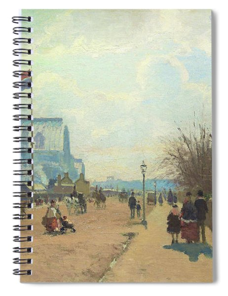 The Crystal Palace - Digital Remastered Edition Spiral Notebook