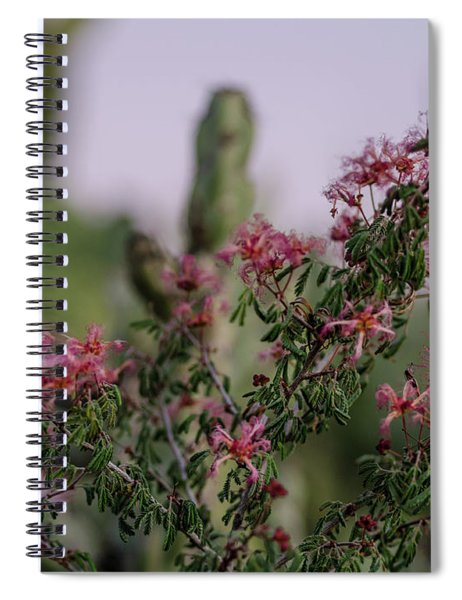The Delicate Side Of The Desert Spiral Notebook