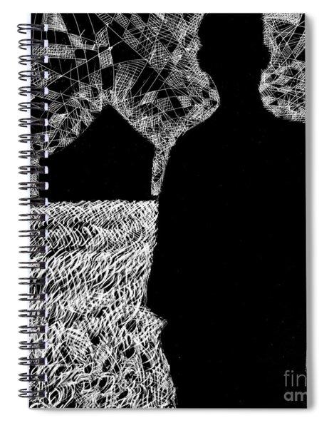 The Delta. Spiral Notebook