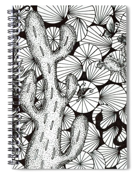 The Desert Sundance Spiral Notebook