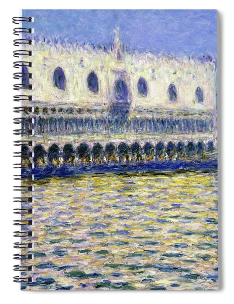 The Doges Palace, Le Palais Ducal - Digital Remastered Edition Spiral Notebook