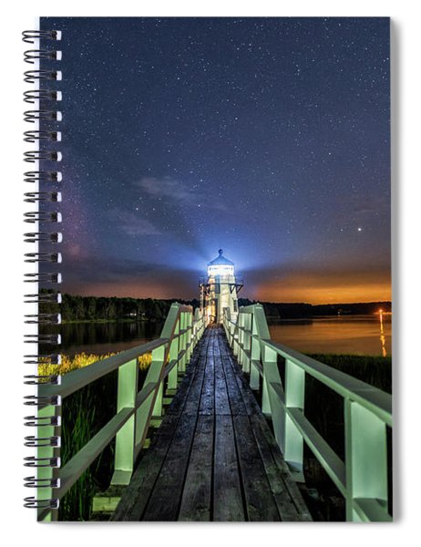 The Doubling Point Lighthouse Spiral Notebook