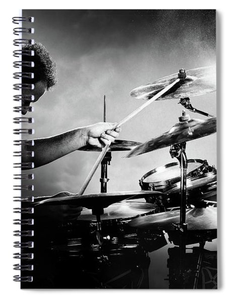 The Drummer Spiral Notebook