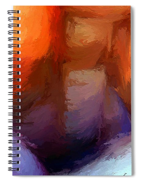 The Edge Of Darkness Spiral Notebook