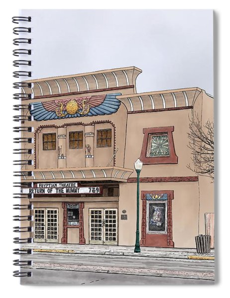 The Egyptian Theatre Spiral Notebook