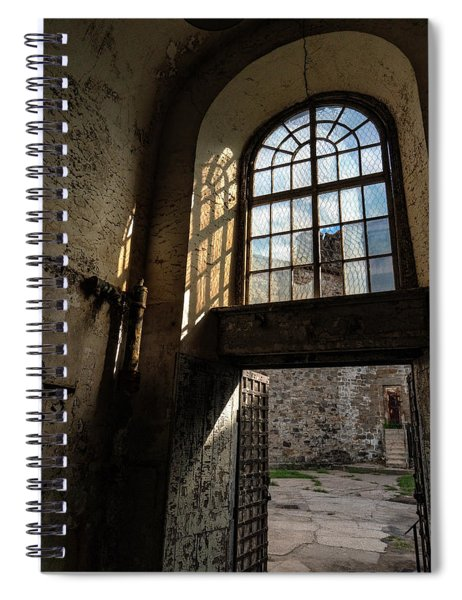 The End Of The Cellblock Spiral Notebook
