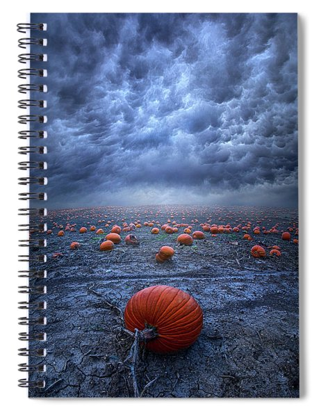 The End Was Left Behind Spiral Notebook