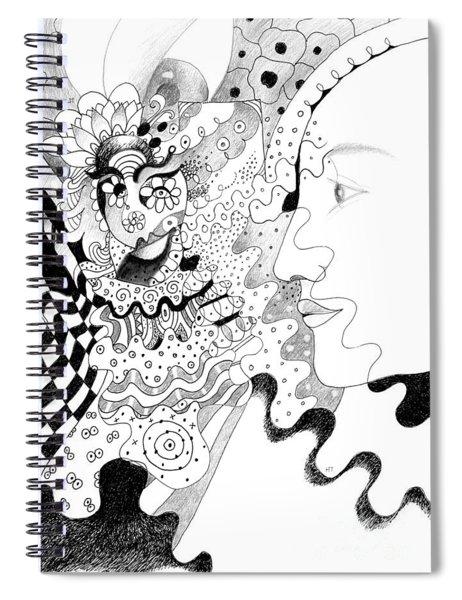 The Eye In The Sky Aka The I In The Sky Spiral Notebook