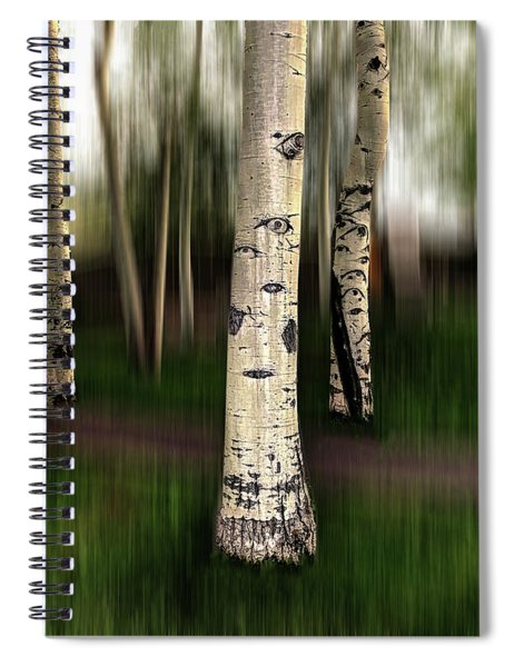 The Eyes Of Aspen Are Upon Us Spiral Notebook