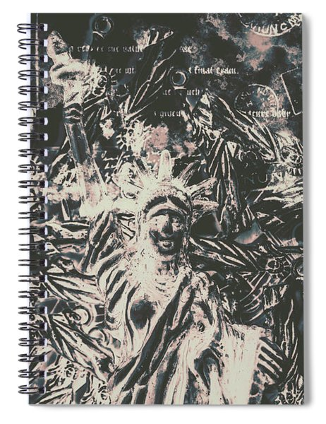 The Fall Of False Idols Spiral Notebook