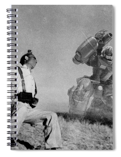 The Falling Soldier One Spiral Notebook