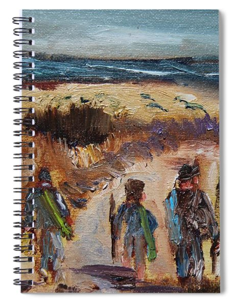The Family That Fish Together Spiral Notebook