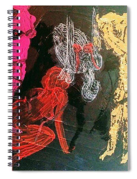 The Fates Are Emerging Spiral Notebook