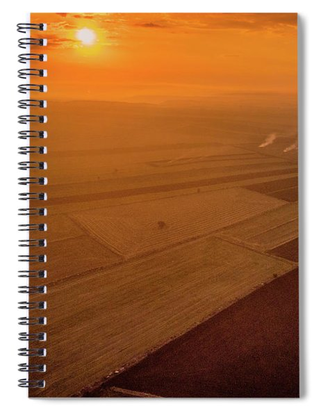 The Fields Spiral Notebook