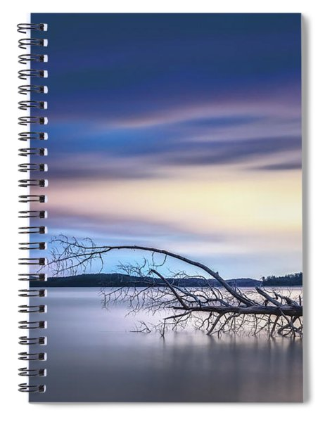 The Floating Tree Spiral Notebook