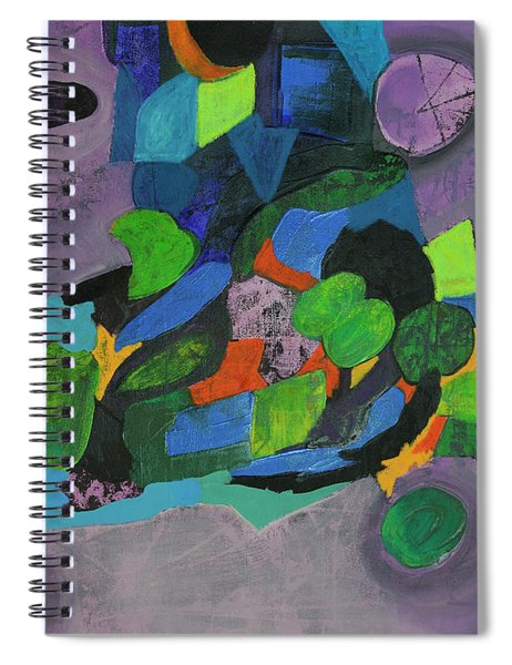 The Force Of Nature Spiral Notebook