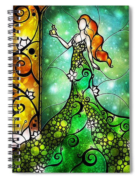 The Frog Prince Spiral Notebook