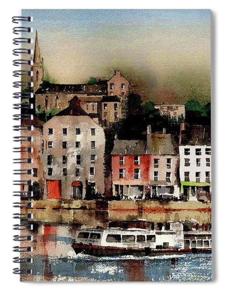 The Galley Off New Ross, Wexford Spiral Notebook