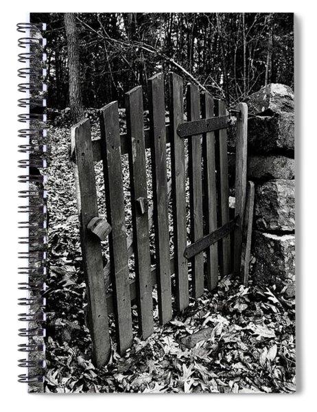 The Garden Entrance Spiral Notebook