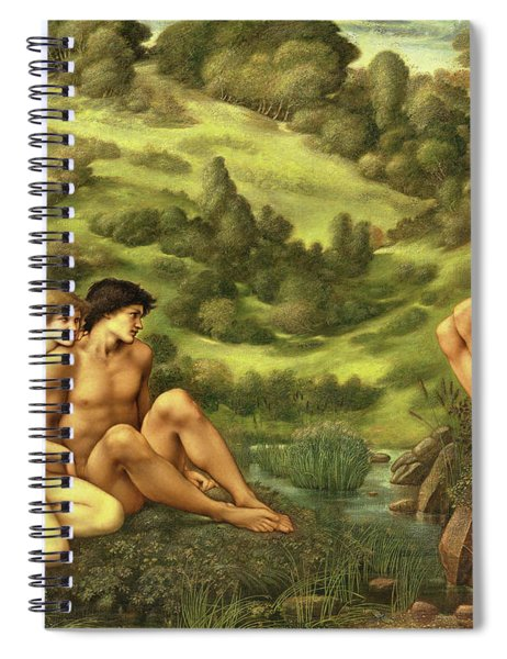 The Garden Of Pan - Digital Remastered Edition Spiral Notebook
