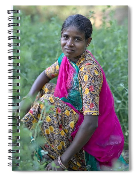 The Gardener Spiral Notebook