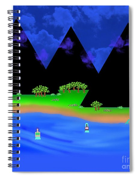 The Gathering Place Spiral Notebook
