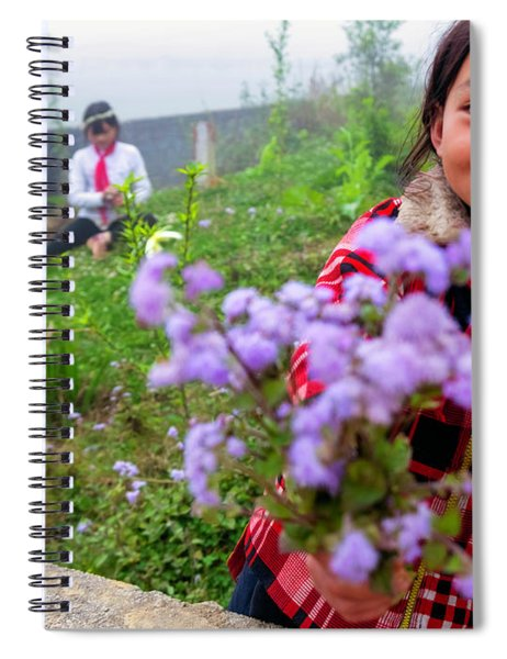 The Gift - Sapa, Vietnam Spiral Notebook