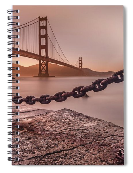 The Golden Gate Spiral Notebook