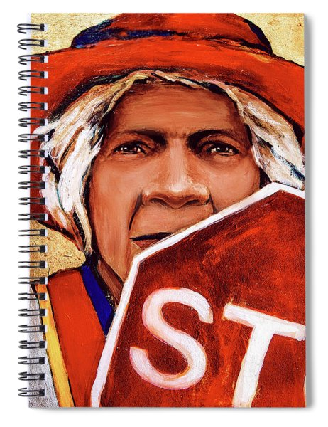 The Golden Years - Crossing Guard Spiral Notebook