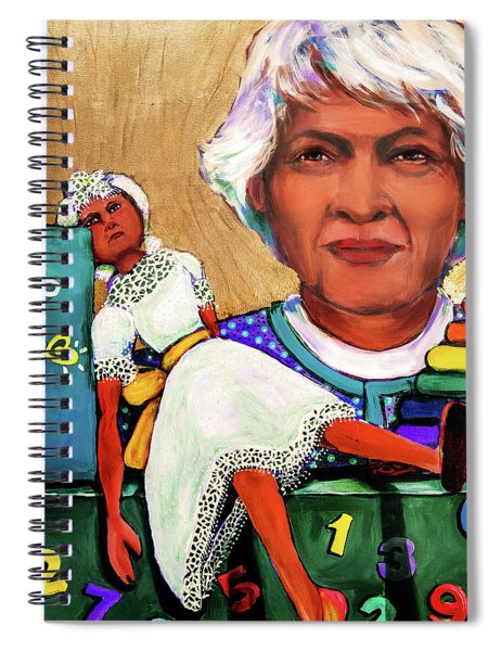 The Golden Years - Daycare Worker Spiral Notebook