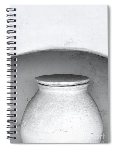 The Greek Vessel Spiral Notebook