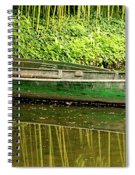 The Green Boat Spiral Notebook