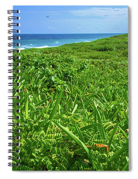 The Green Island Spiral Notebook